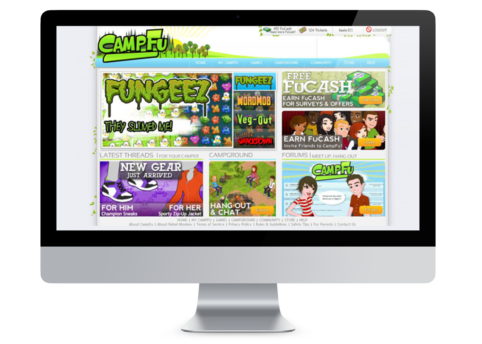 CAMP-FU Website Home Page