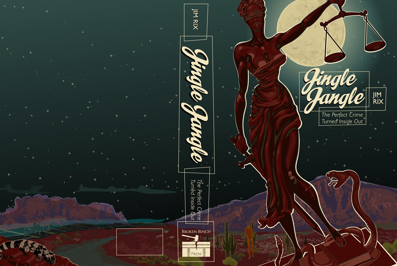 JINGLE JANGLE BY JIM RIX Book Design Cover Spread