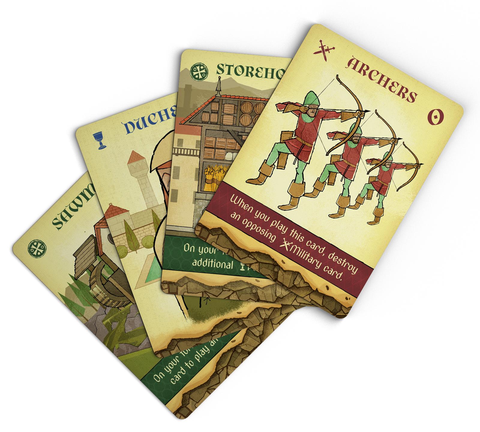 CROWN OF ARAGON Card Design