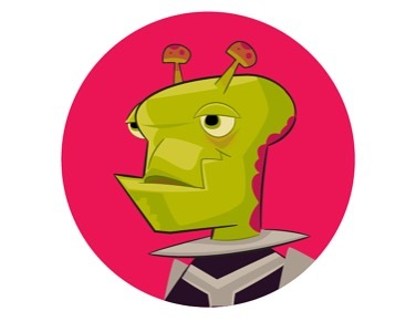 Alien profile #alien #characterdesigner #vectorillustration #adobeillustrator #drawingdaily #spaceage #retrofuture #gameart #gamedev #dribbble #touchtouchstudio #pentool #colorart #antenna #ufo
