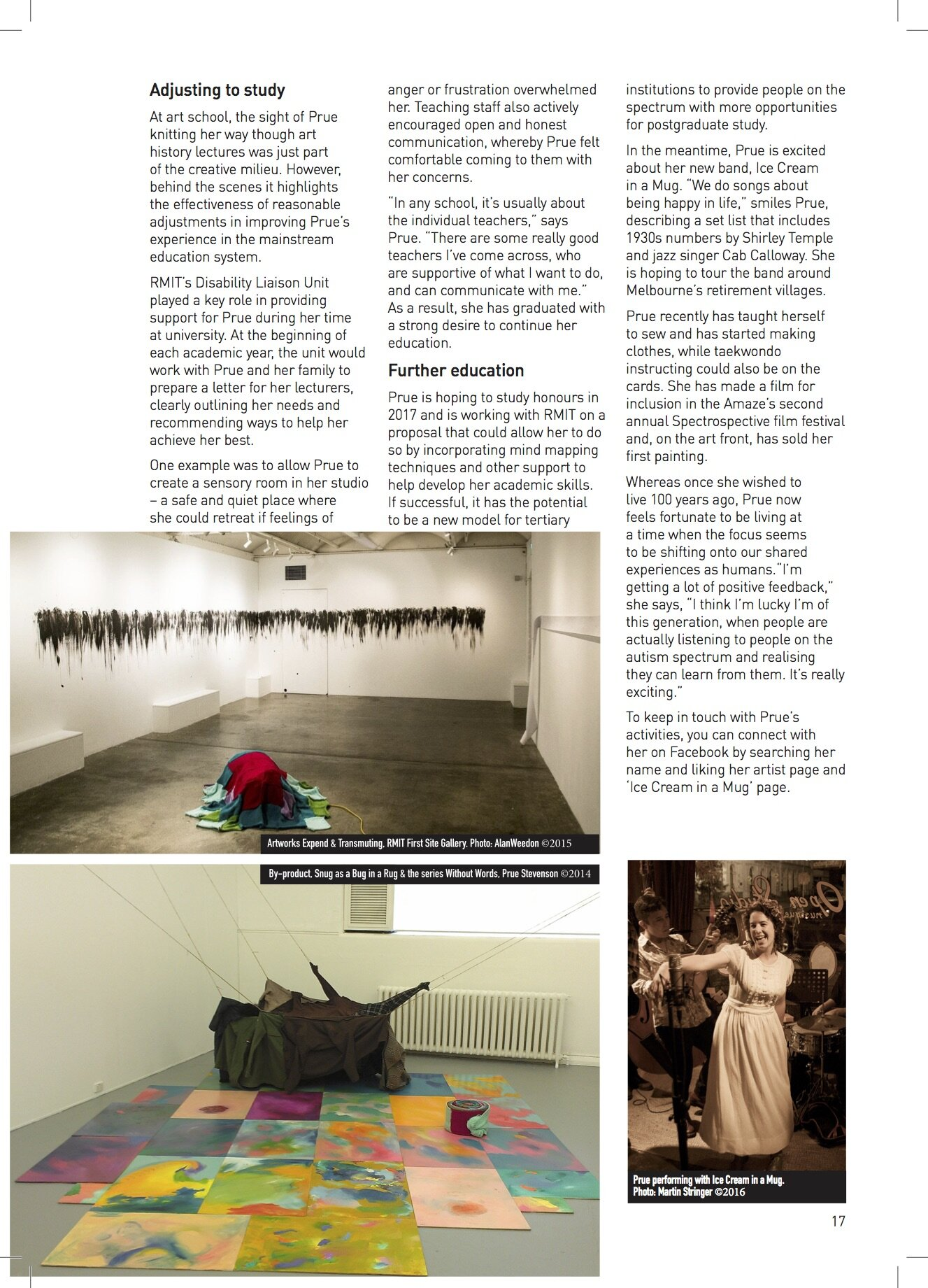 The Spectrum Magazine Page 2