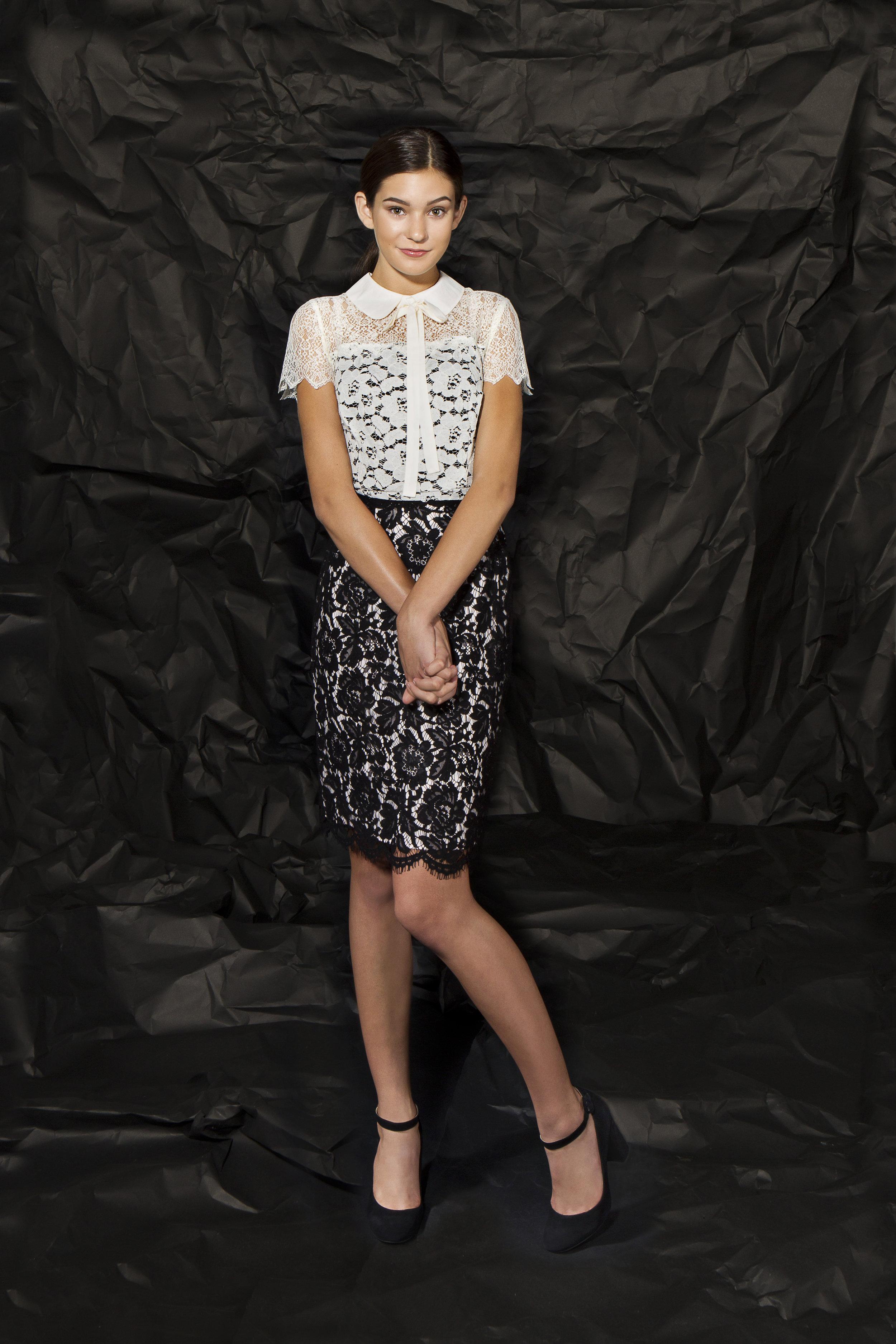 SIMPLY SWEET  top : Kensie | shoe : Marc Fisher