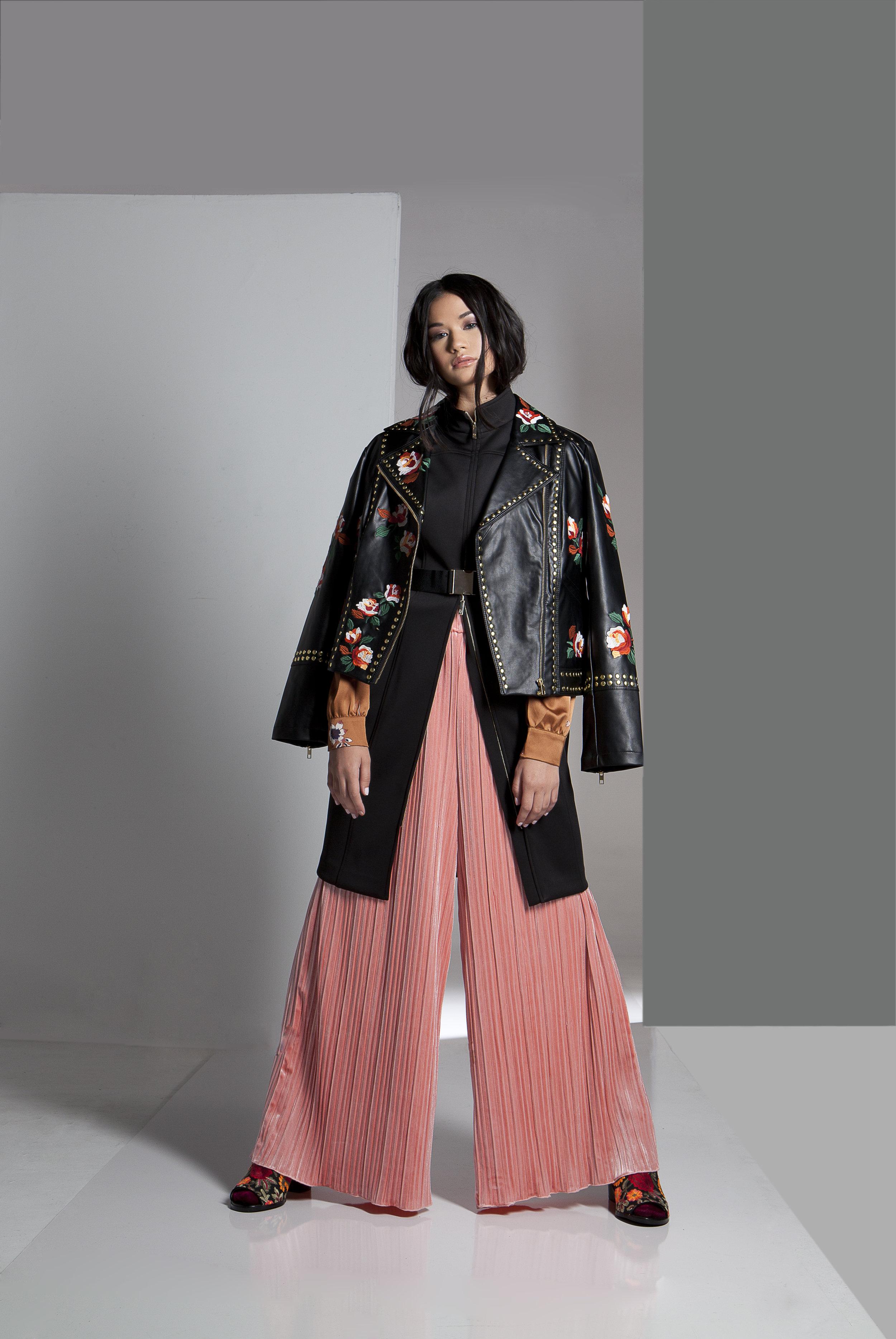 jacket: INC.  blouse : Astr pant : Endless Rose  boot : Crown Vintage