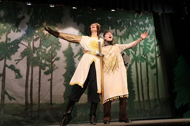 Come see these amazing actors in Heritage's production of SPAMALOT! (March 14-16) Tickets are on sale right now and are on the Heritage theatre website!