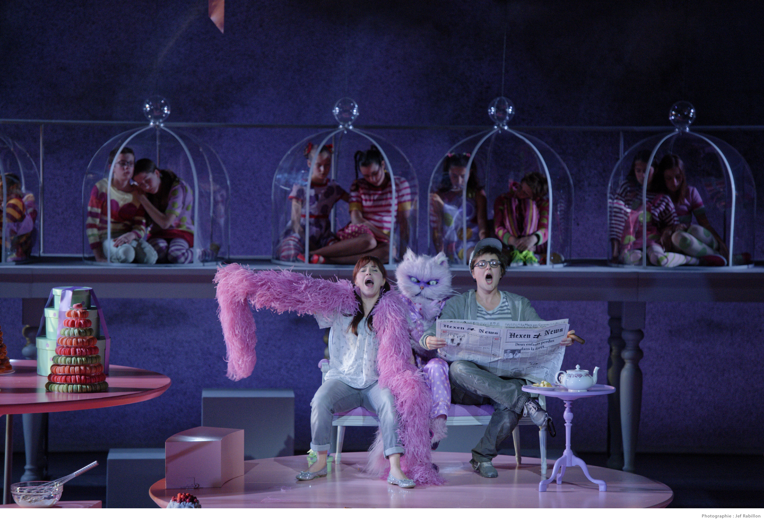 Hansel und Gretel, Angers-Nantes Opéra, photo: J. Rabillon