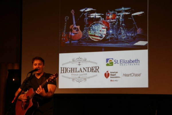 Local music legend Ben Walz performing at the Highlander Event Center.