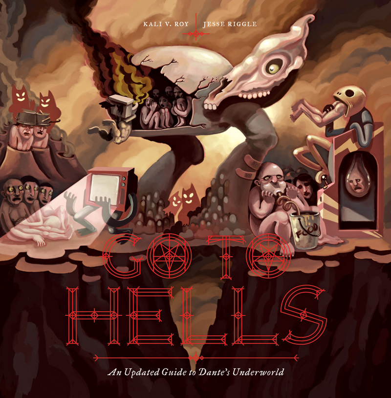 I illustrated this wild book last year, and it has now been released! It's sort of a modern day take on Dante's Inferno.   You can totally buy a copy here: http://amzn.to/1DfIcEo