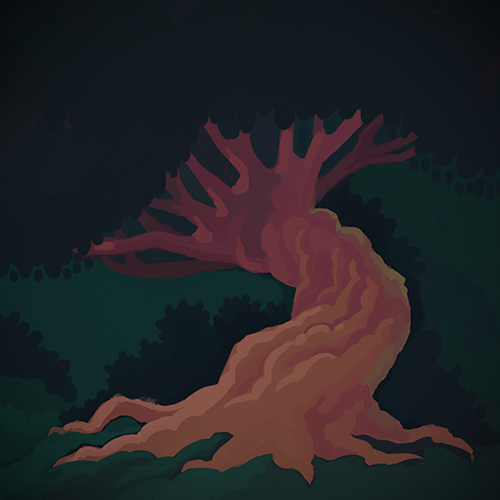 Playing around in painter making things that aren't faces.