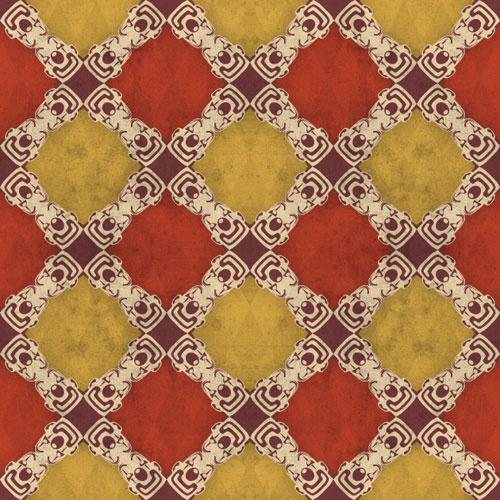 I made a pattern for the  Paper Bicycle Daily Pattern . The topic: Circus. See, it s a bunch of tiny clown heads.     This is probably my first pattern I ever made that I can recall with any certainty. Good times.