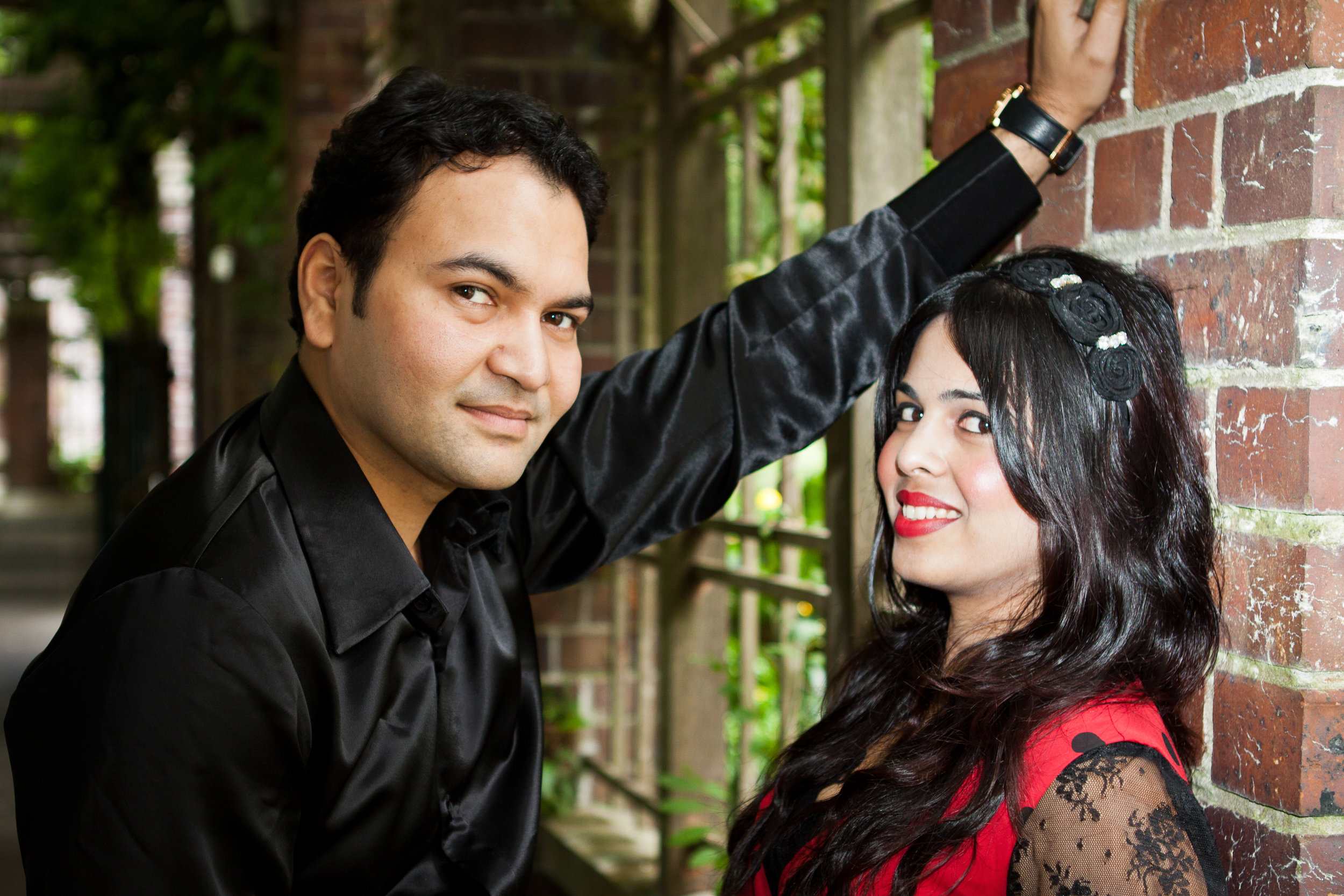 SHWETA & SUJIT - COUPLE PORTRAITS