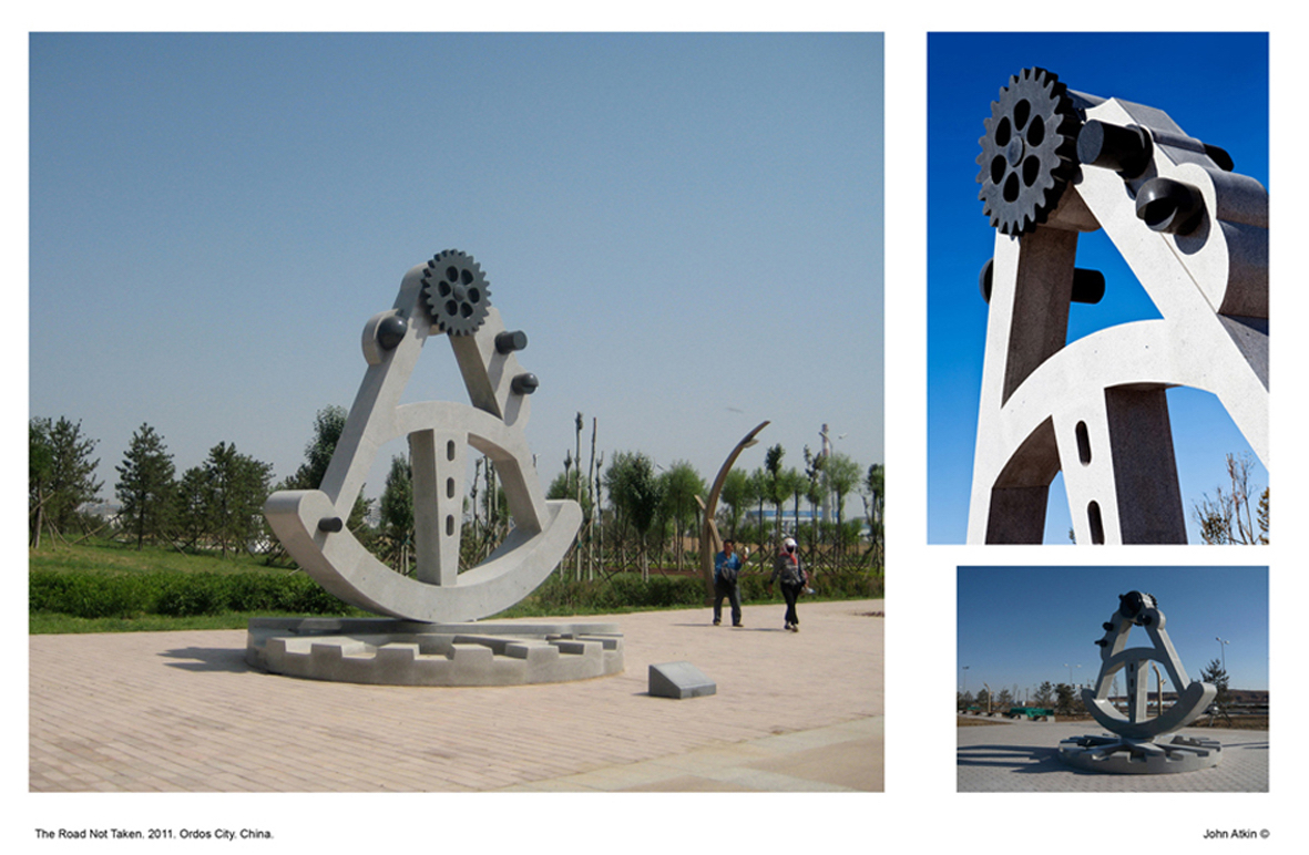 1.The Road Not Taken. Ordos City. China.jpg