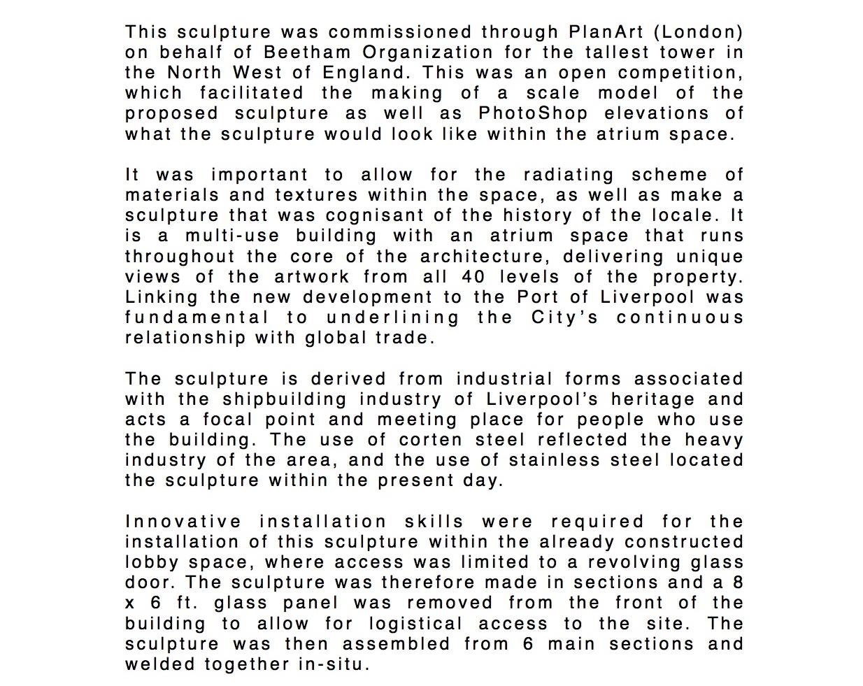 Dal Fabbro's Chariot statement. 2004.jpg