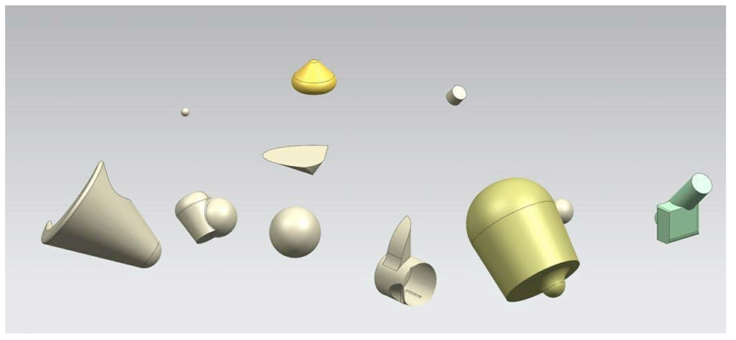 An example of John Atkin's work on EvoShape, March 2012