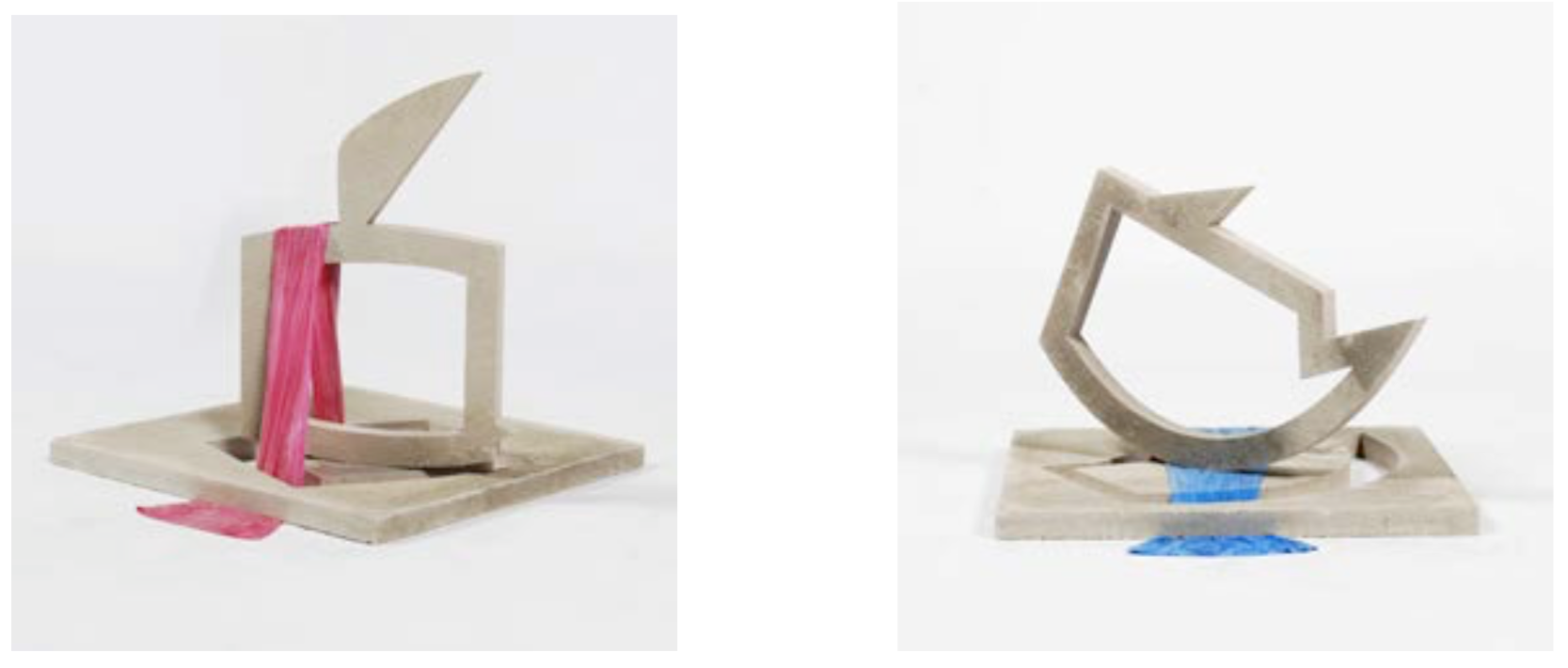 Examples of completed artworks by Colette GrifXin, using Evoshape & Water Jet