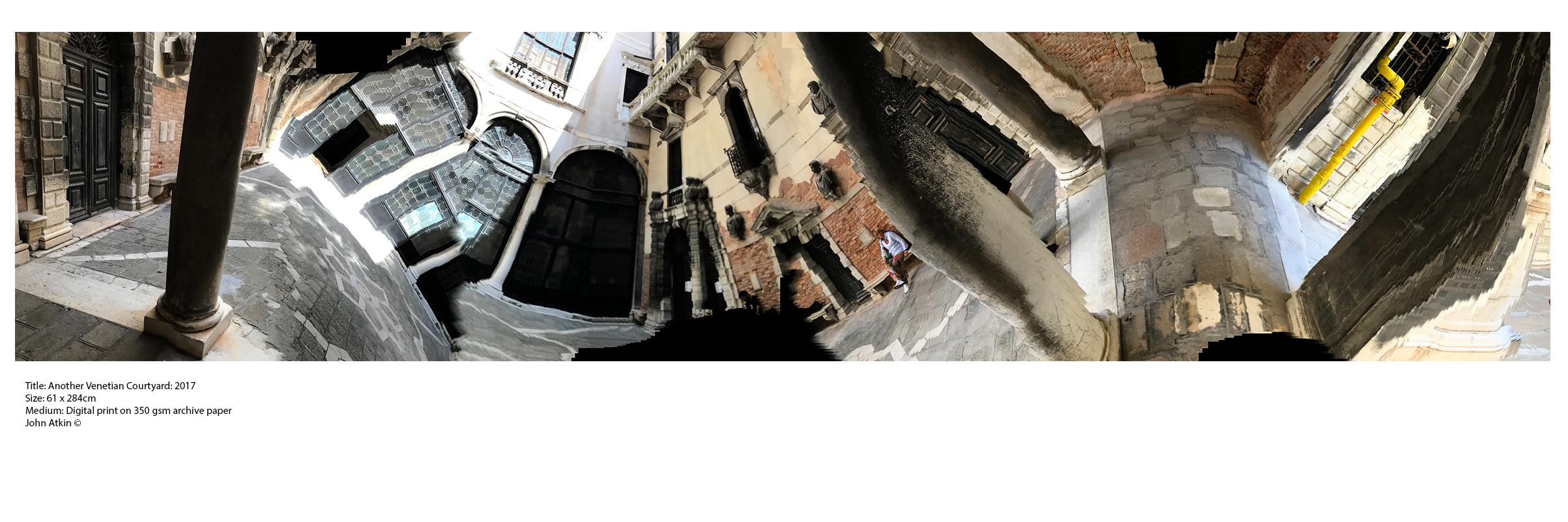 Another Venetian Courtyard: 2017