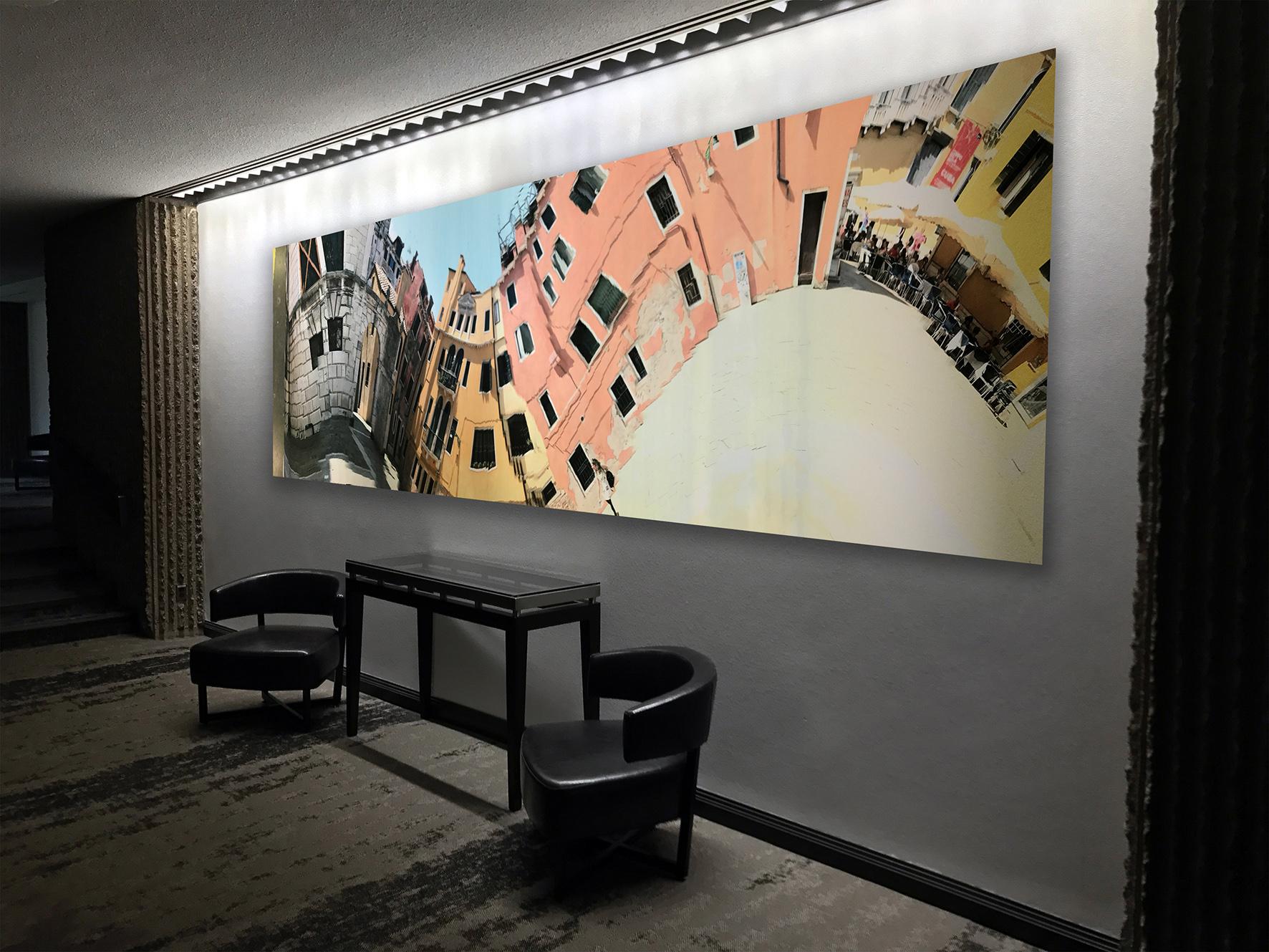 "Exhibition view of ""A Venetian Courtyard"" 2017"