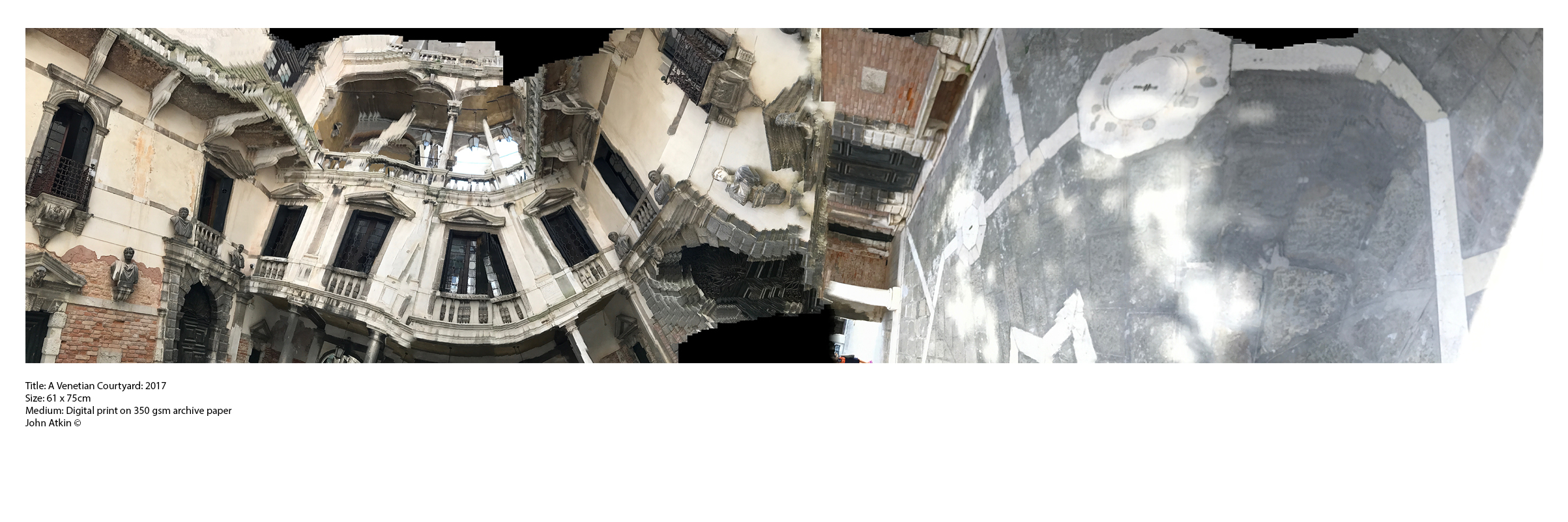 A Venetian Courtyard: 2017
