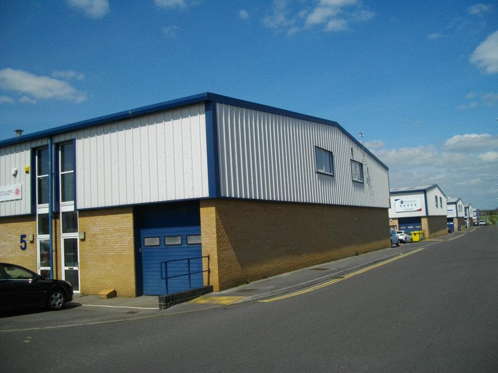 Regent Trade Park and Lederle Lane Estate Road, Gosport