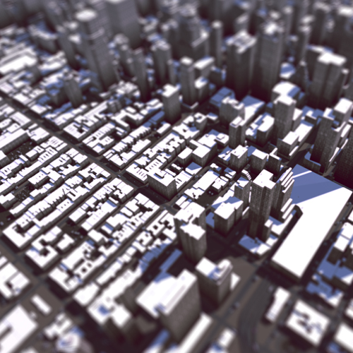 Detailed environments auto-generated directly from map data