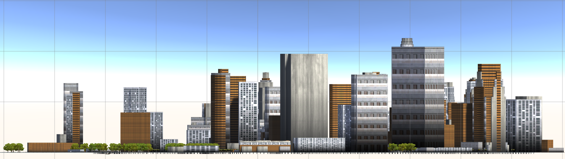Creating a skyline or orthogonal view? No problem.