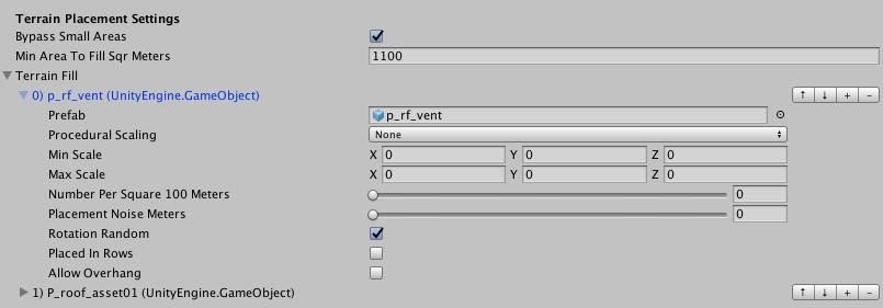 Fig. 3 Terrain Fill UI detail