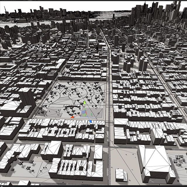 The world is our canvas. #mantle3dtech #wireframe #city #ny #render #indiedev #indiegames #blanktheme #mapping #gps #geolocation #vr #ar #style #environment #world #3denvironment