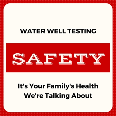 Annual Water Well Testing Reveals Contamination Problems