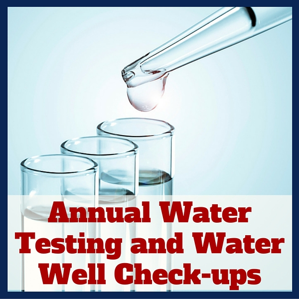 Water Testing and Well Check-ups