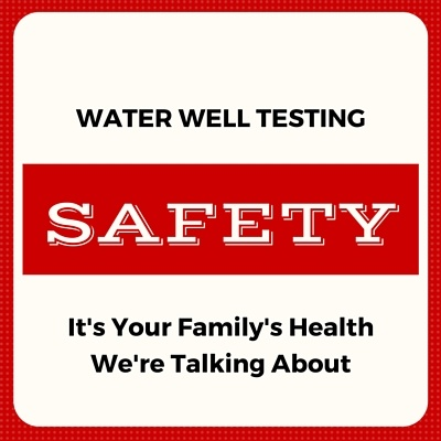 Information on testing well water for contamination