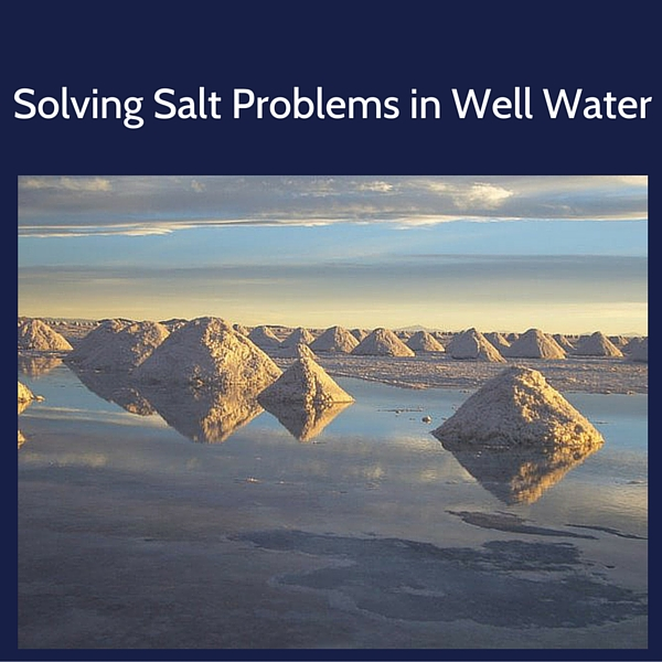 Removing salt from drinking water