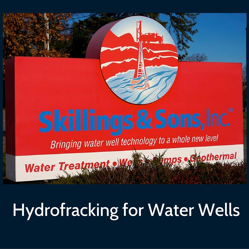 Hydrofracturing increases yield in water wells.