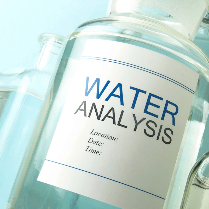 Water testing and analysis - when to test well water.