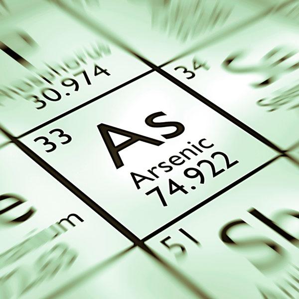 Arsenic water treatment