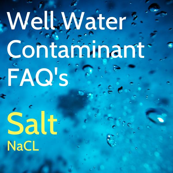 Salt Contamination in Well Water
