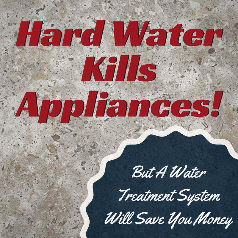 Hard water kills appliances