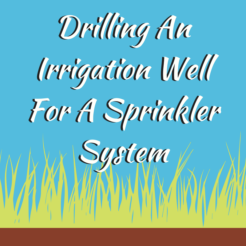 Drilling An Irrigation Well