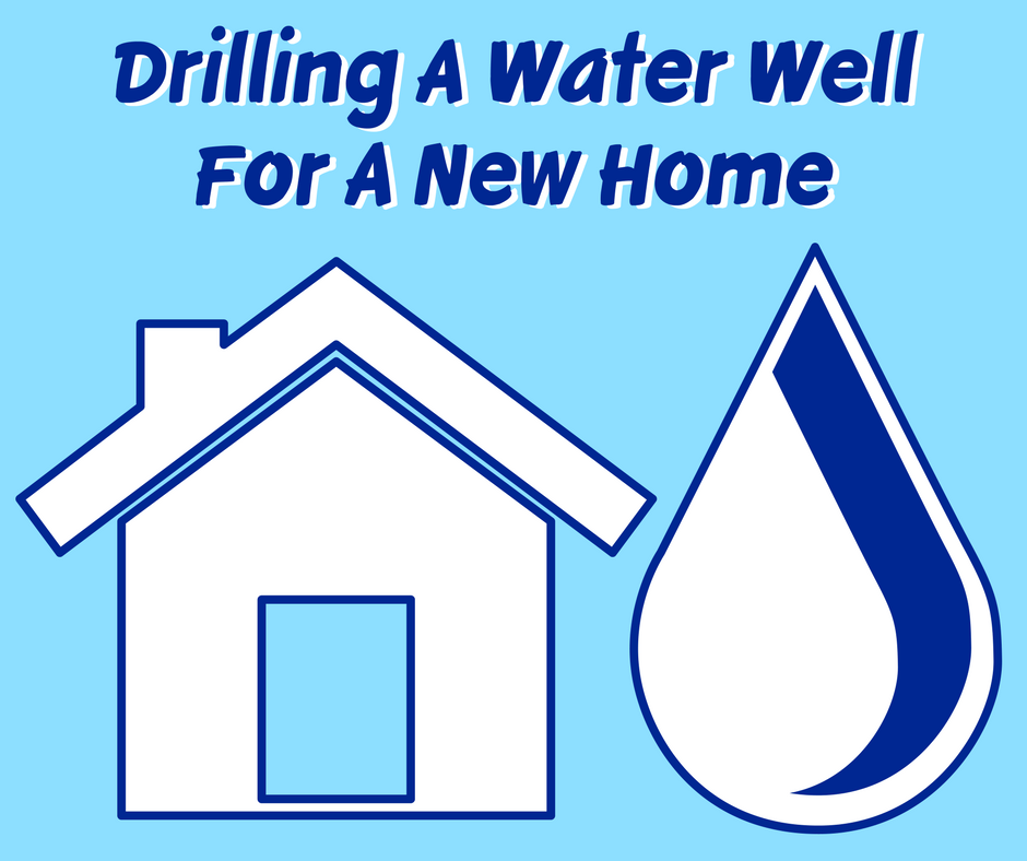 Drilling A Water Well For A New Home