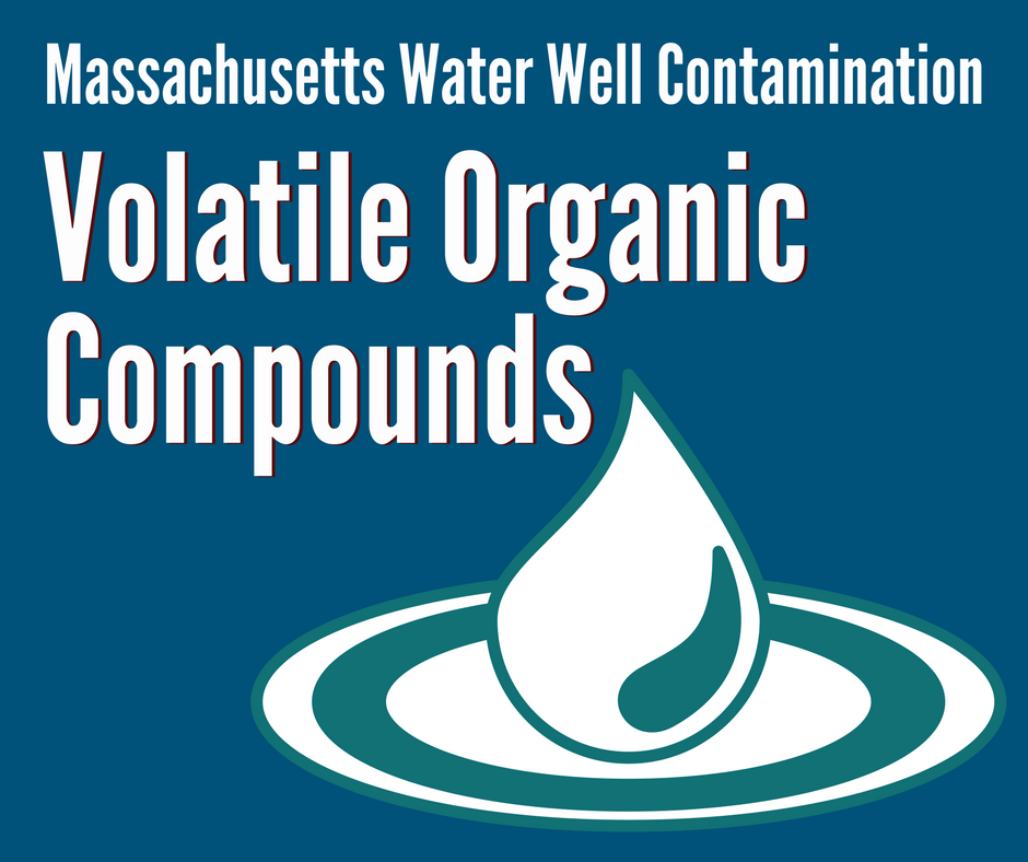 Massachusetts Water Well Contamination Volatile Organic Compounds