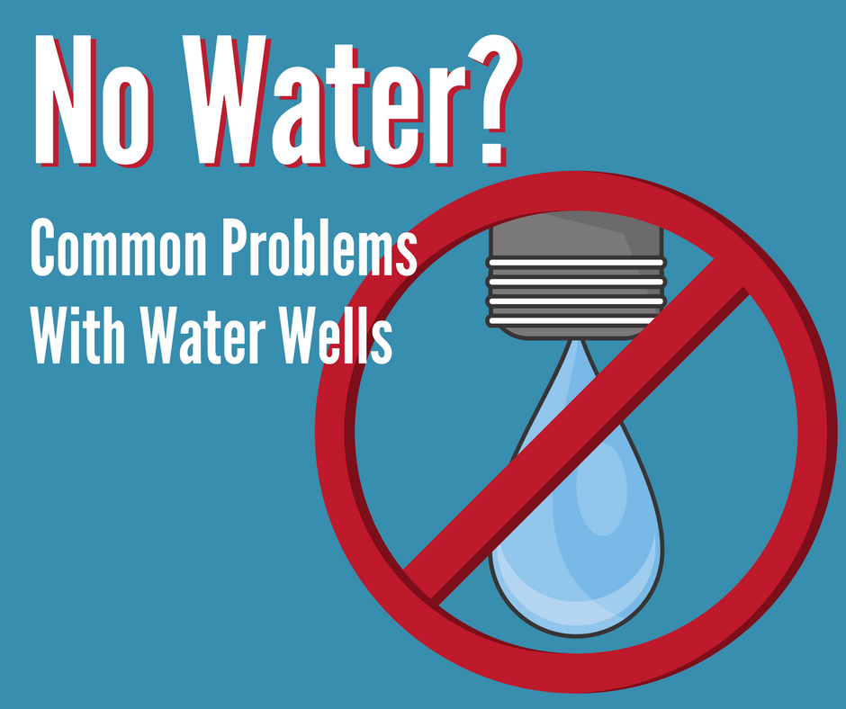 Solving no water problems on a water well