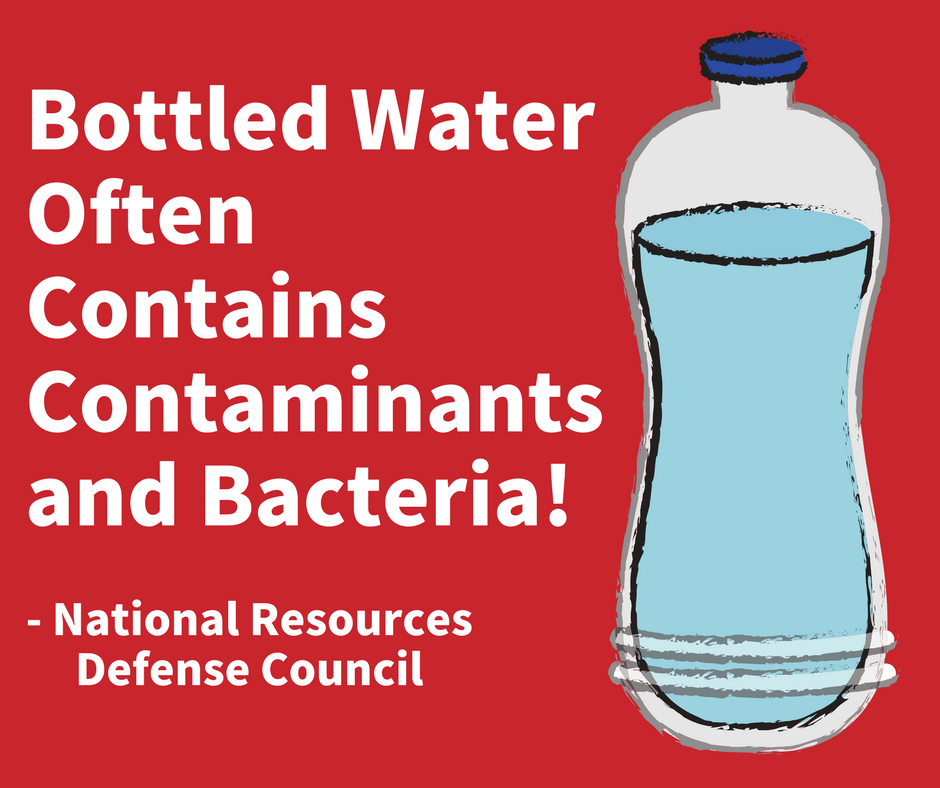 Bottled Water Often Contains Contaminants and Bacteria