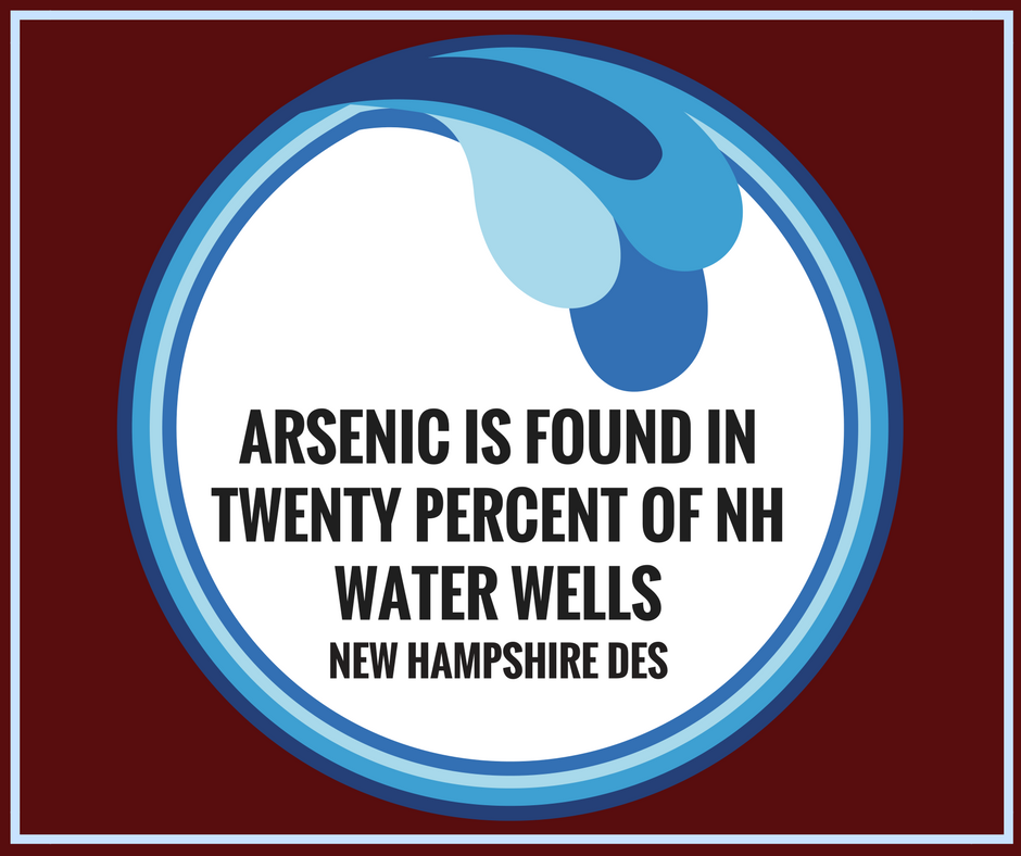 Arsenic Is Found in Twenty Percent of NH Water Wells