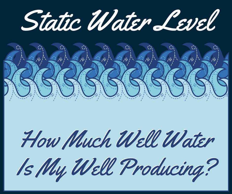 Static Water Level Water Wells NH
