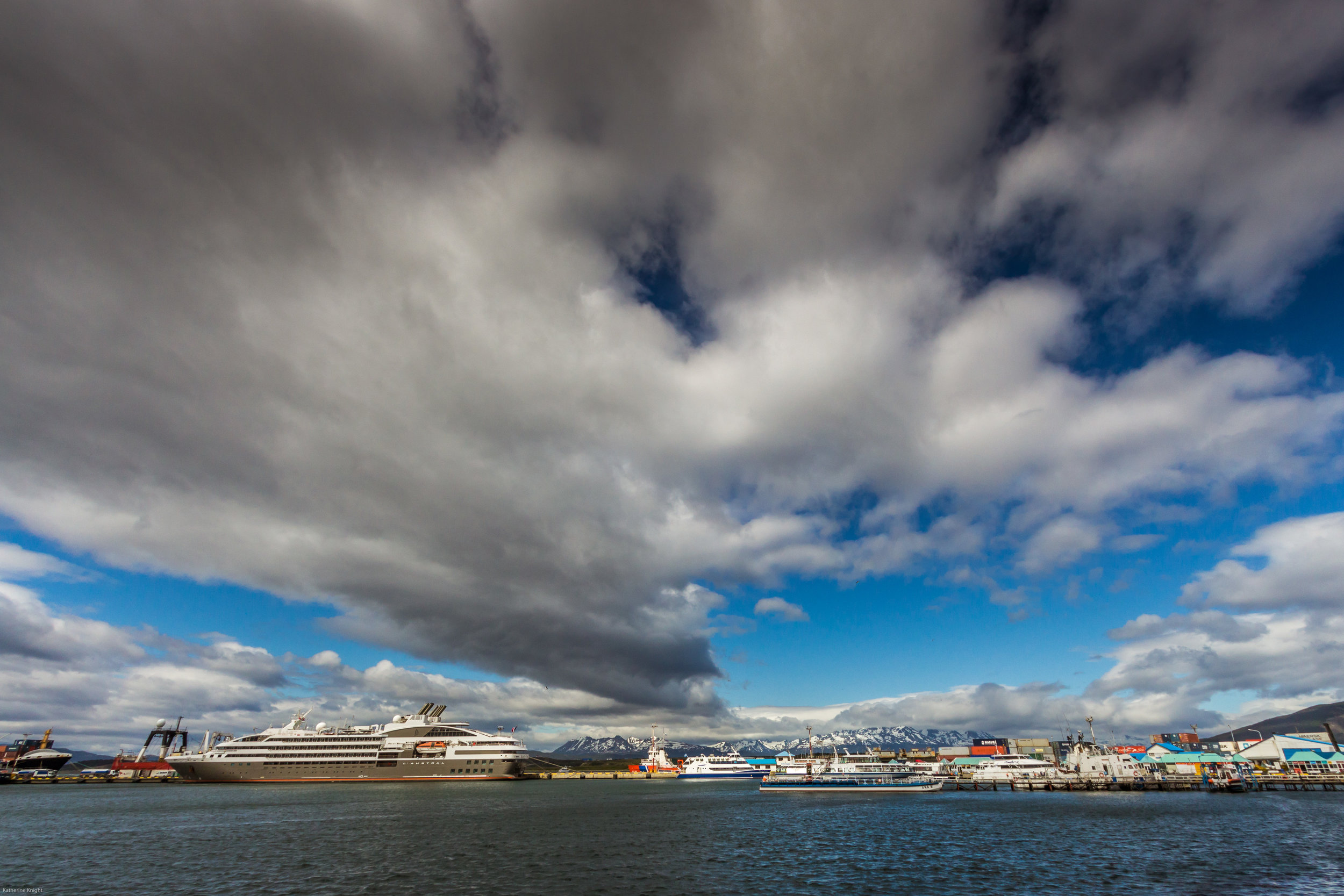 Ushuaia, busiest cruise terminal in the world