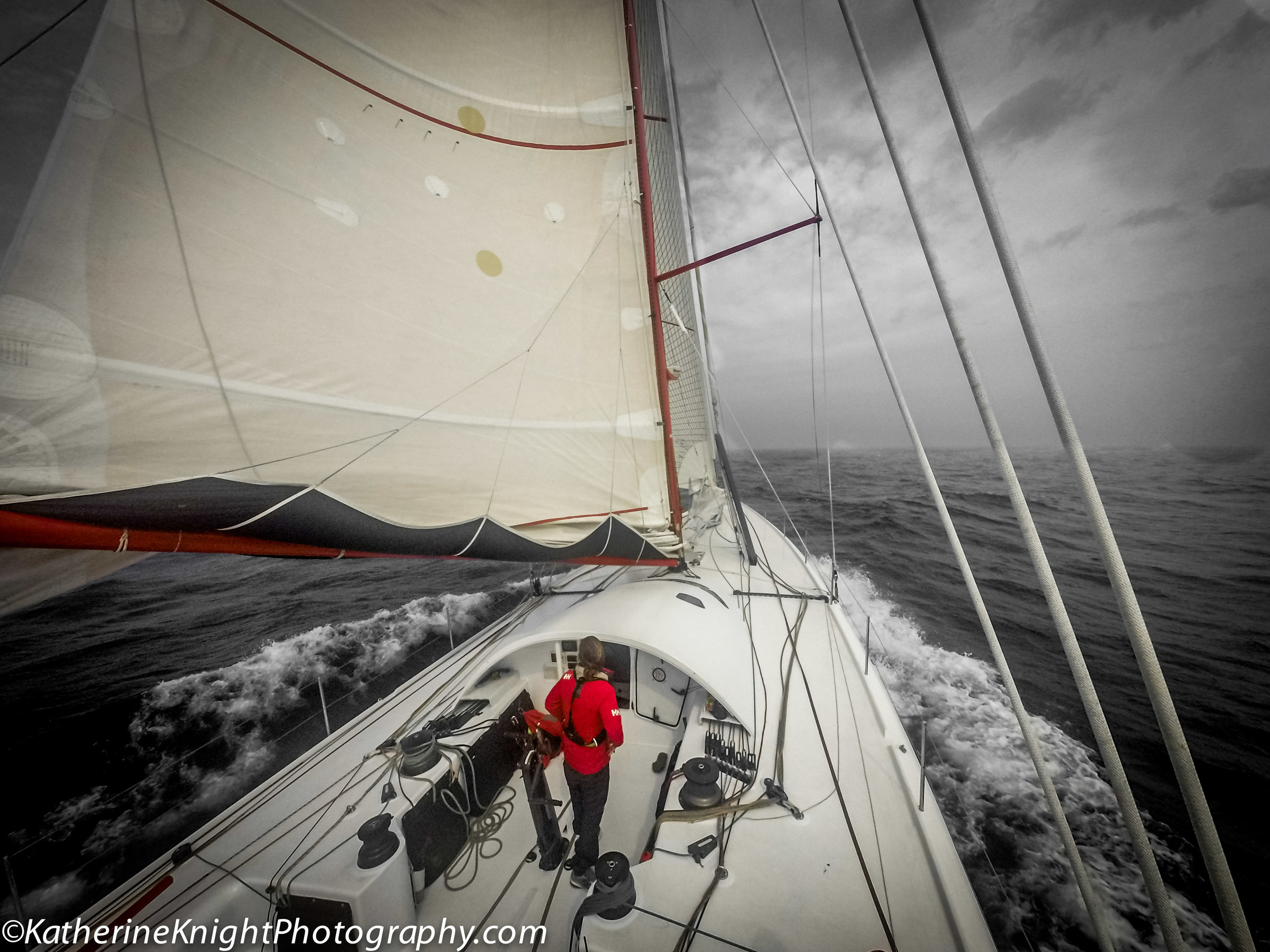 Eric Holden Open 60 sailing