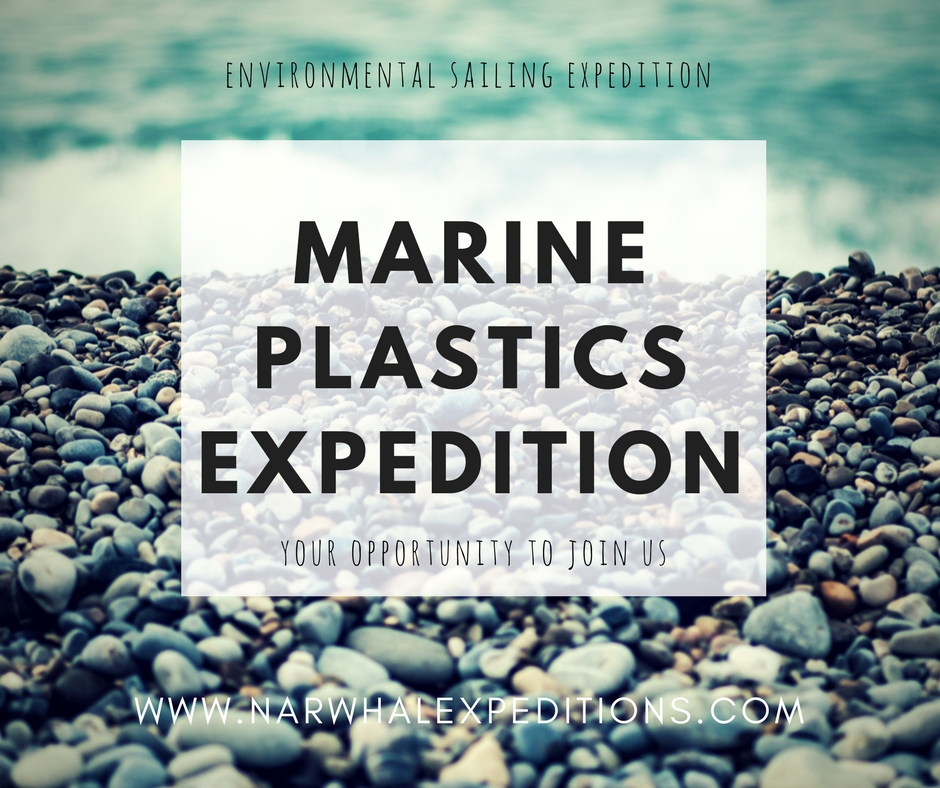 Ocean plastics research trip on Yacht Narwhal - your opportunity to join us