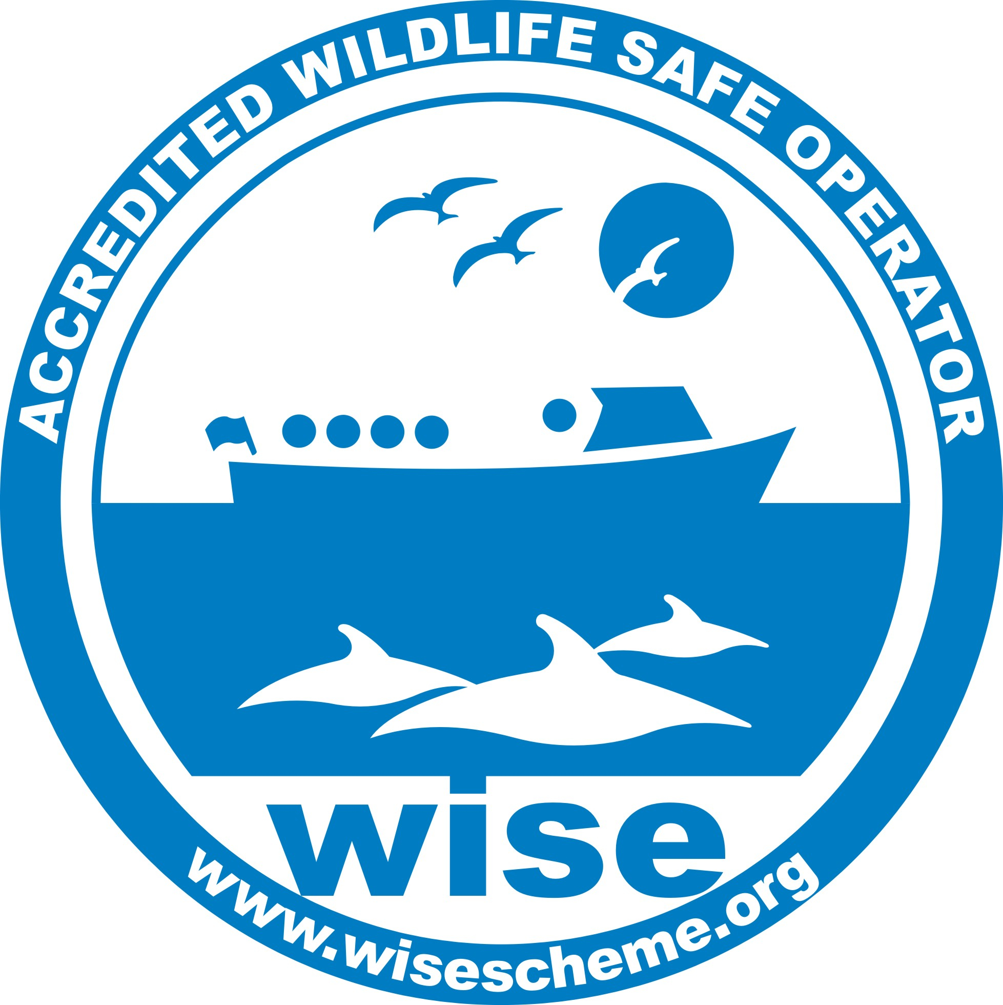Accredited whale watching vessel