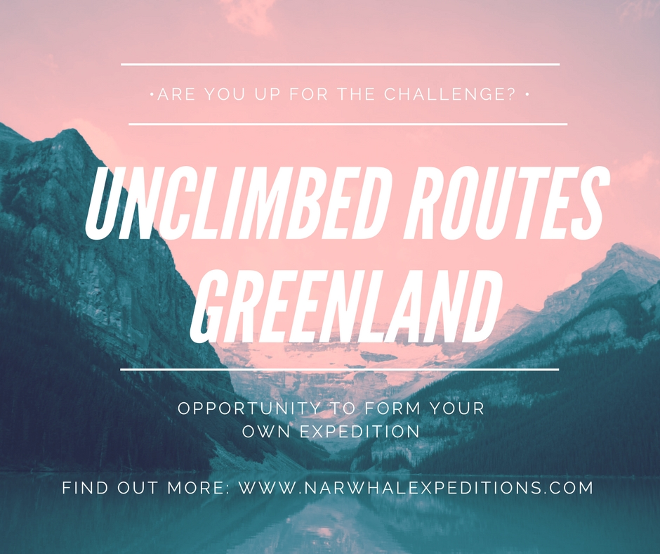 Unclimbed routes, Greenland