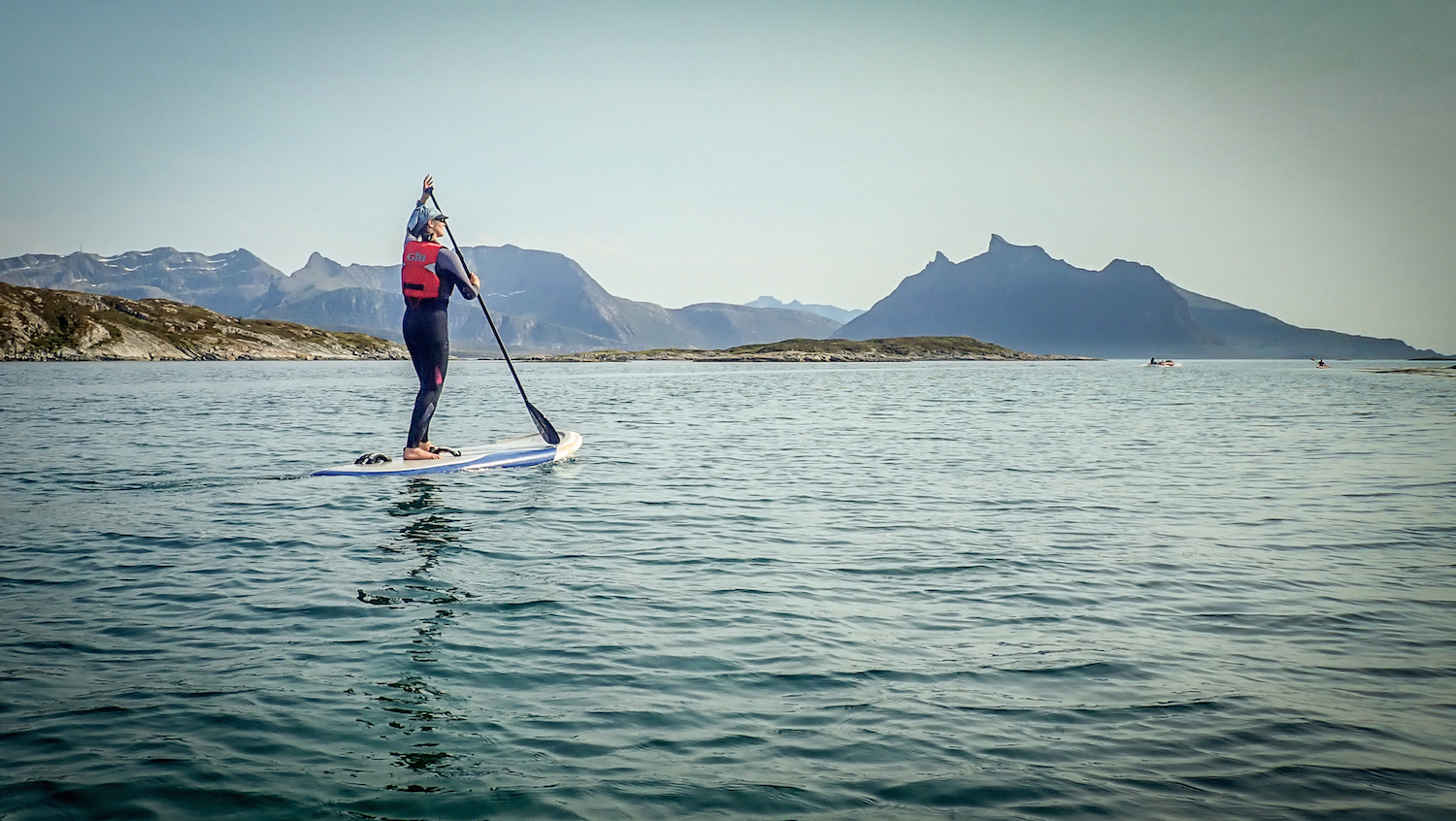 SUPing in the arctic