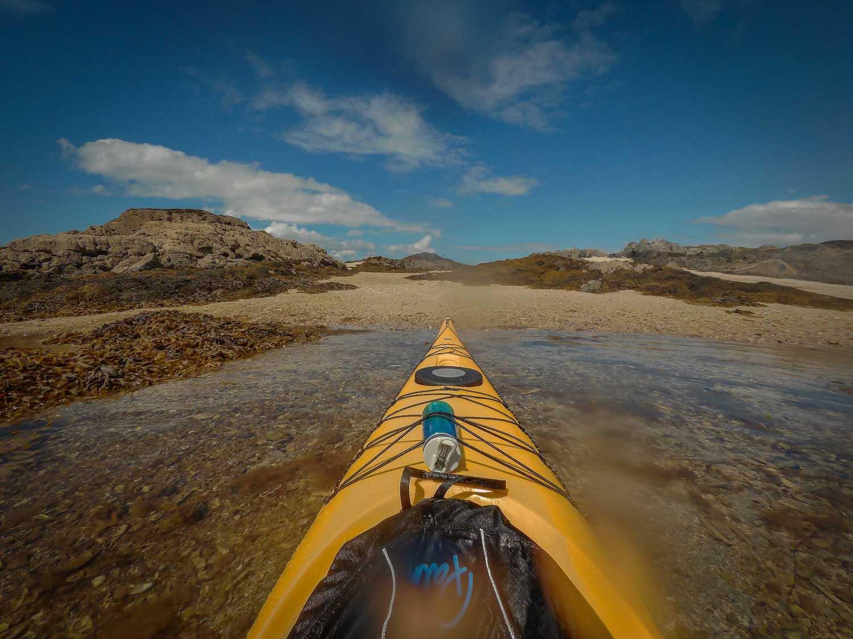 Sea kayaking Arisaig, Scotland
