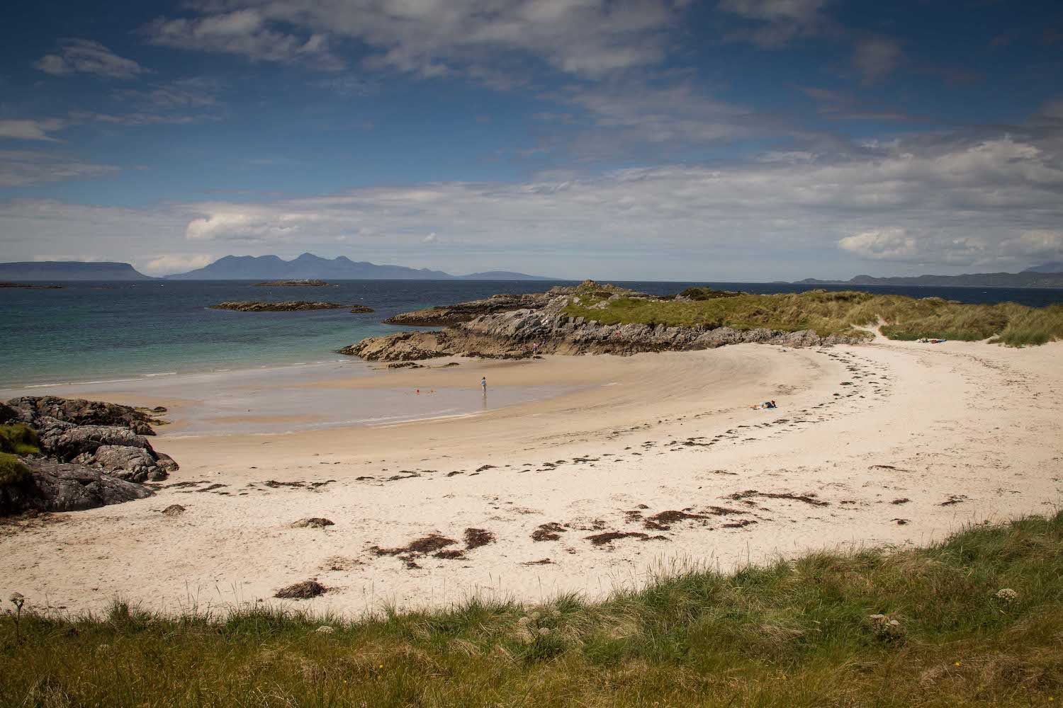 Far from the crowds on Scotland's beaches